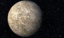 El planeta Mercurio