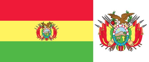Escudo de la bandera de Bolivia