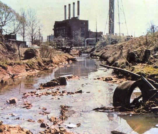 Causas de la Contaminación del Agua
