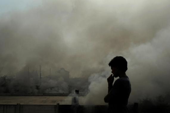 ¿Cómo se mide la contaminación del aire?
