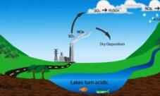 ¿Cómo se forma la lluvia ácida?