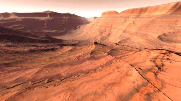 ¿Qué hay en el planeta Marte?