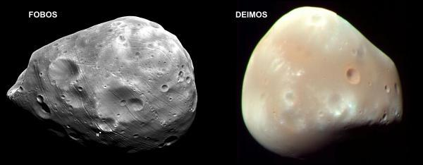 Cuantos satélites tiene el planeta Marte