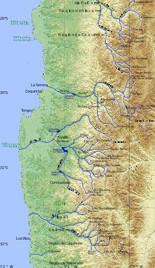 Principales ríos de Chile