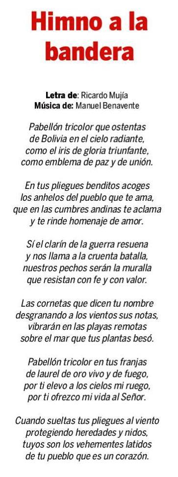 Himno de la Bandera de Bolivia