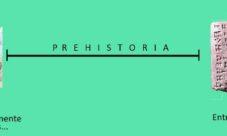¿Qué acontecimiento marcó el fin de la prehistoria?