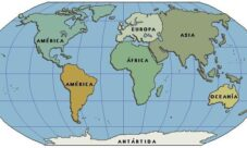 Continentes del planeta Tierra