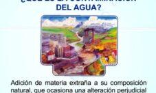 ¿Cómo se define la contaminación del agua?