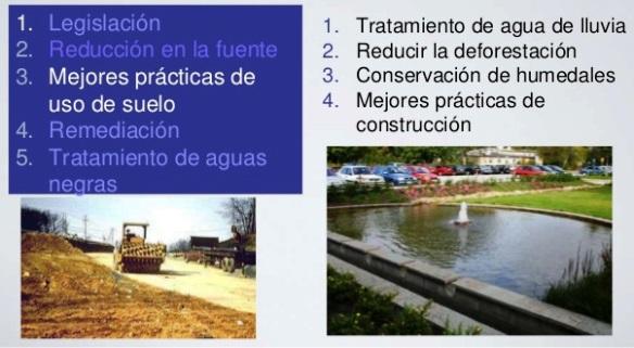 Formas de reducir la contaminación del agua