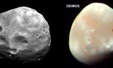 ¿Cuántas lunas tiene el planeta Marte?