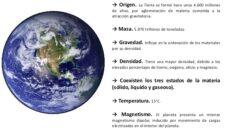 ¿Cuáles son los rasgos físicos de la Tierra?