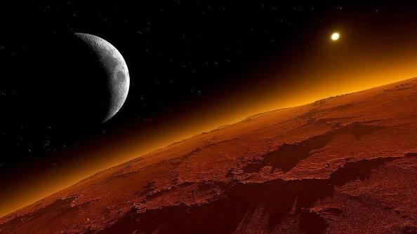 ¿Cuál es la temperatura de la superficie de Marte?
