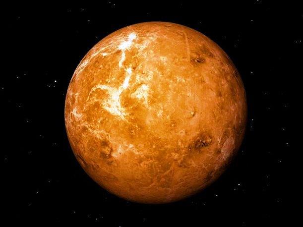 ¿De qué color es el planeta Venus?