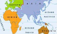 ¿Qué continentes rodean el Océano Índico?