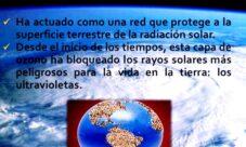 ¿De qué nos protege la capa de ozono?