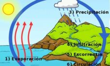 ¿Cuáles son las etapas del ciclo del agua?