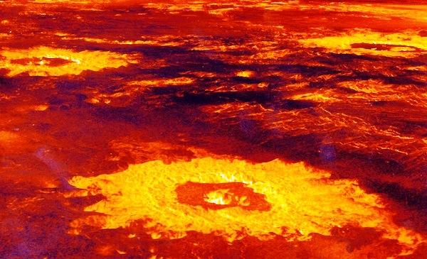 Imágenes del planeta Venus