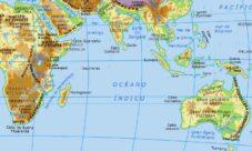 Mares del Océano Índico