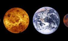 ¿Cuál es el tamaño del planeta venus?
