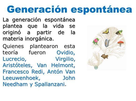 Defensores de la generación espontánea