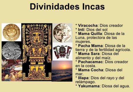 Dioses de los incas