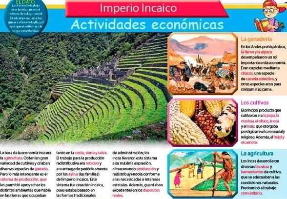 Organización económica de los Incas
