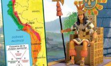 Ubicación geográfica de los incas