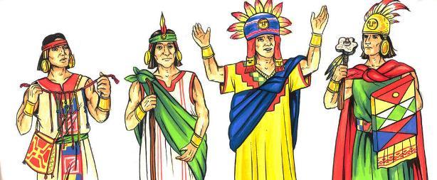 Vestimenta de los Incas
