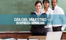 Día del Maestro en República Dominicana
