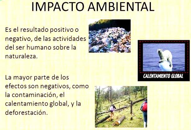 Impacto ambiental en México
