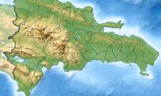 Mapa Físico de la República Dominicana