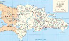 Mapa Político de República Dominicana