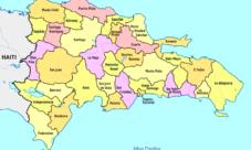 Mapa de provincias de la República Dominicana