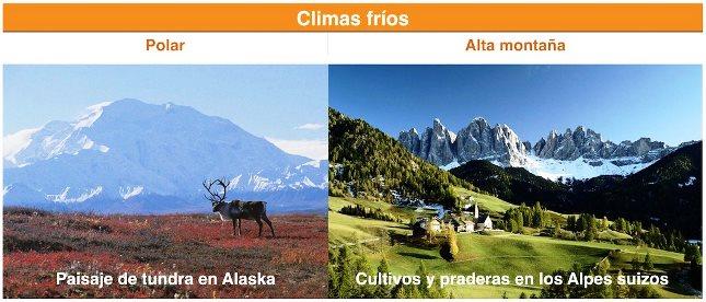 Tipos de clima frío