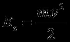 Fórmula de la energía cinética