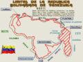 Mapa de Venezuela con sus límites geográficos